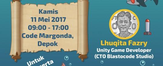 Workshop #7: Membuat Game Android Untuk Pemula Menggunakan Unity